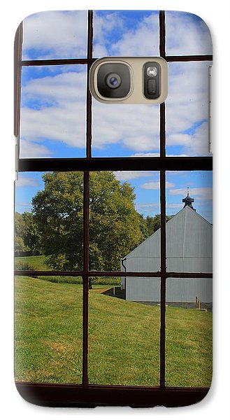 Galaxy Case featuring the photograph Inside Looking Out by Debra Kaye McKrill