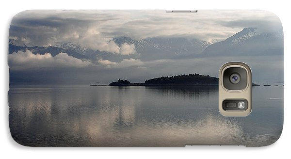 Galaxy Case featuring the photograph Inside Passage Reflections by Robert  Moss