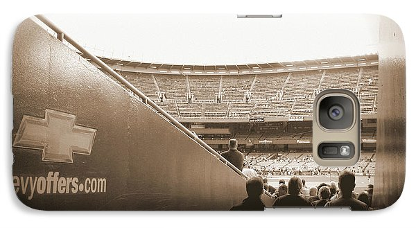 Galaxy Case featuring the photograph Inside The Cathedral Of Baseball by Aurelio Zucco