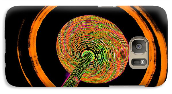 Galaxy Case featuring the photograph Inside The Vortex A by Michael Nowotny