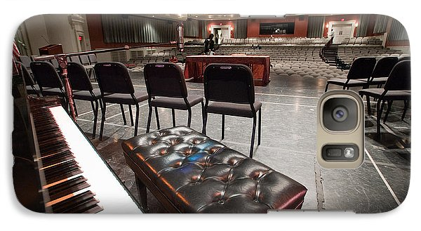 Galaxy Case featuring the photograph Inside Theater by Alex Grichenko