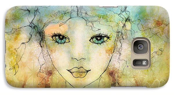 Galaxy Case featuring the digital art Inspiration by Barbara Orenya