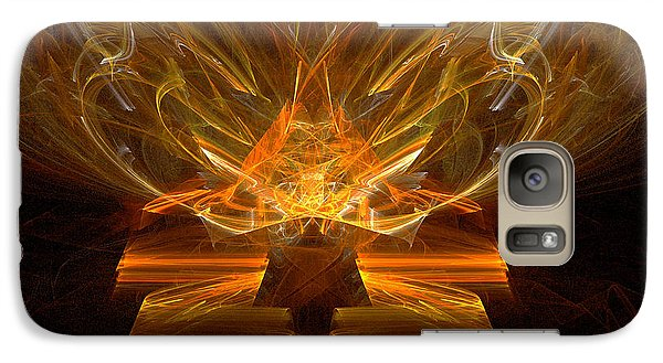 Galaxy Case featuring the digital art Inspirations Light by R Thomas Brass