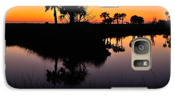 Galaxy Case featuring the photograph Intense Reflections by Richard Zentner
