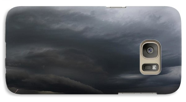 Galaxy Case featuring the photograph Intense Storm Cell by Ryan Crouse