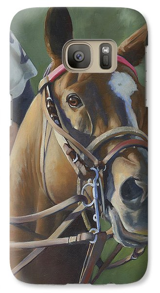Galaxy Case featuring the painting Intensity by Alecia Underhill