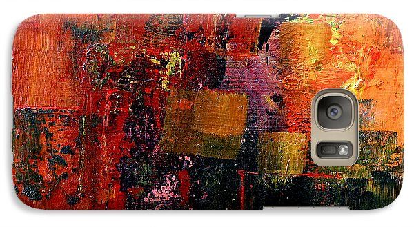Galaxy Case featuring the painting Interaction by Jim Whalen