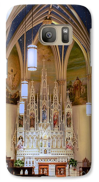 Interior Of St. Mary's Church Galaxy S7 Case