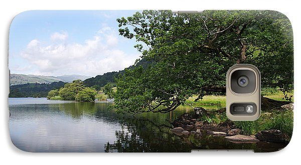Galaxy Case featuring the photograph Intimate Stroll Around Rydal by Graham Hawcroft pixsellpix