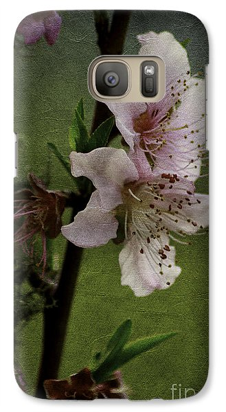 Galaxy Case featuring the photograph Into Spring by Lori Mellen-Pagliaro