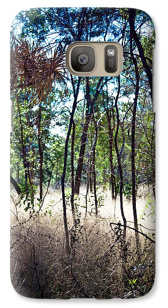 Galaxy Case featuring the photograph Into The Bush by Carole Hinding