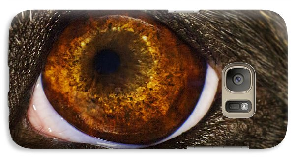 Galaxy Case featuring the photograph Into The Eye Of The Pit by Brian Cross