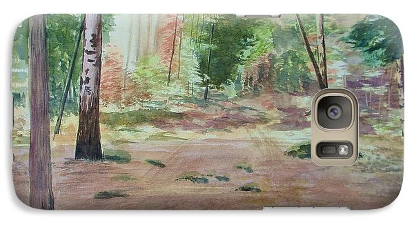 Galaxy Case featuring the painting Into The Forest by Martin Howard