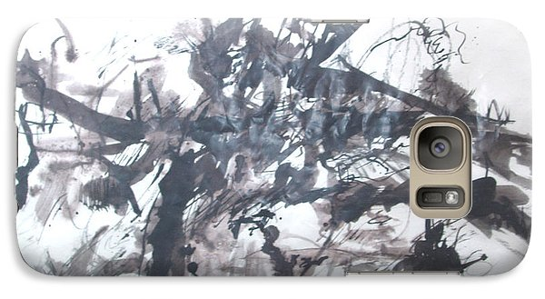Galaxy Case featuring the painting Into The Fray by Esther Newman-Cohen