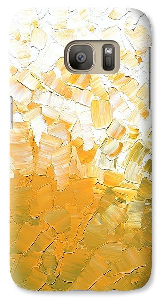 Galaxy Case featuring the painting Into The Light by Linda Bailey