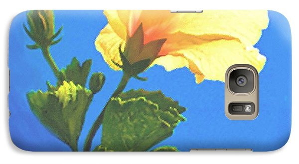 Galaxy Case featuring the painting Into The Light by Sophia Schmierer