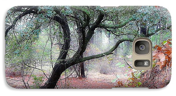 Galaxy Case featuring the photograph Into The Mist by Jim Whalen