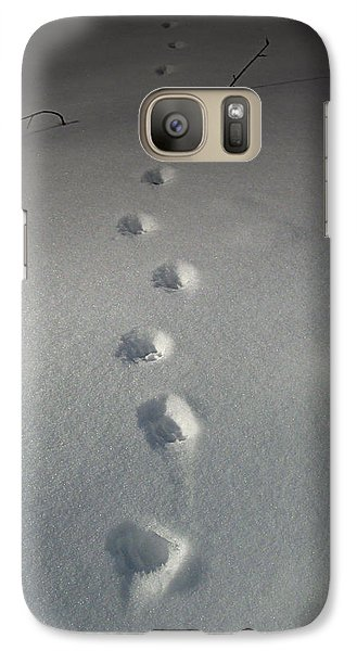 Galaxy Case featuring the photograph Into The Night by Cynthia Lassiter