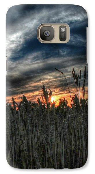 Galaxy Case featuring the photograph Into The Night by Michaela Preston