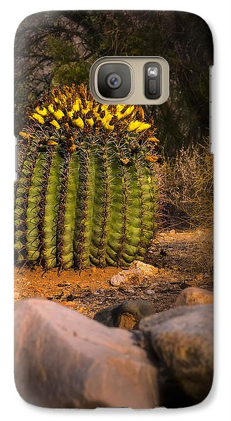 Galaxy S7 Case featuring the photograph Into The Prickly Barrel by Mark Myhaver