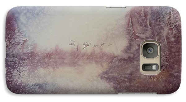 Galaxy Case featuring the painting Into The Storm by Richard Faulkner