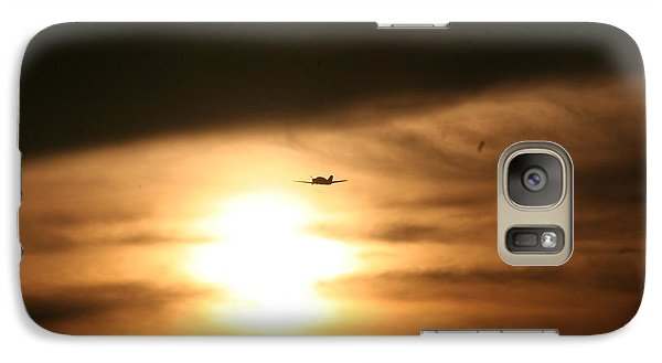 Galaxy Case featuring the photograph Into The Sun by David S Reynolds