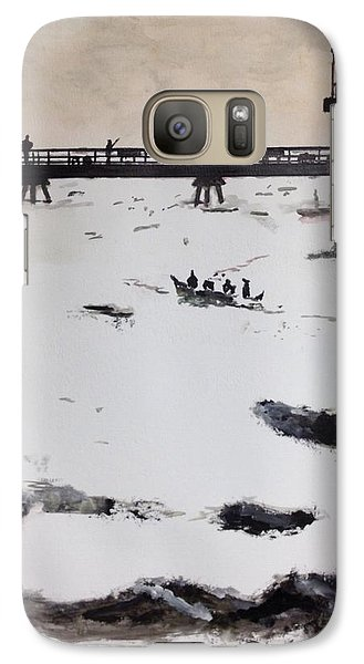 Galaxy Case featuring the painting Into The Sun by Stan Tenney