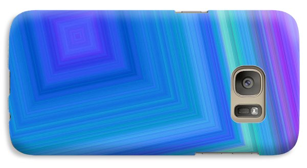 Galaxy Case featuring the digital art Into The Tunnel by Karen Nicholson