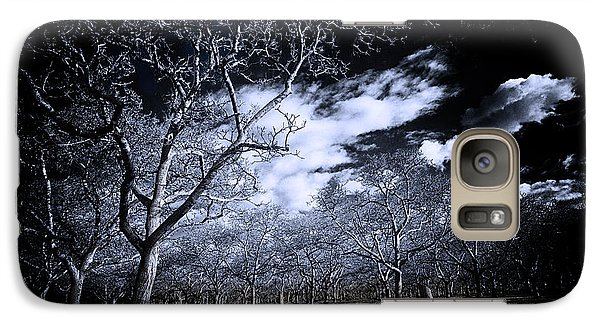 Galaxy Case featuring the photograph Into The Woods by Jason Abando