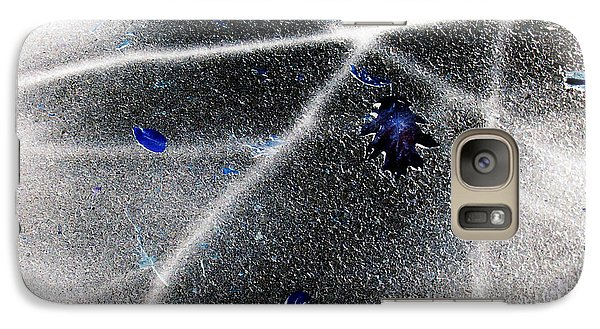 Galaxy Case featuring the photograph Inverted Shadows by Shawna Rowe