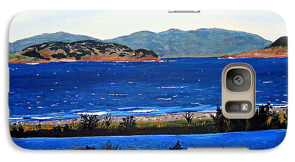 Galaxy Case featuring the painting Iona Formerly Rams Islands by Barbara Griffin
