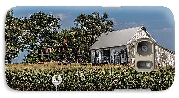 Galaxy Case featuring the photograph Iowa Farm by Ray Congrove