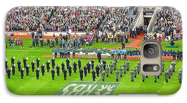 Galaxy Case featuring the photograph Ireland Vs France by Suzanne Oesterling