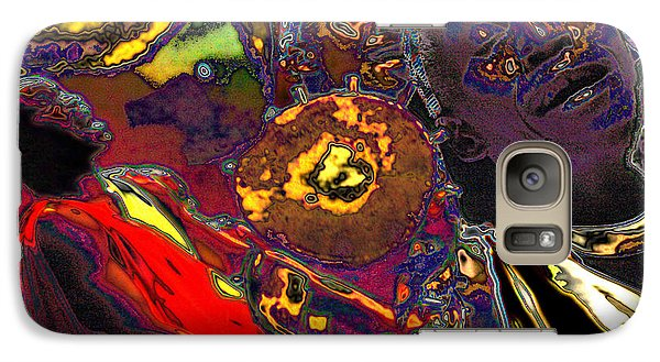 Galaxy Case featuring the digital art Irembo by Mojo Mendiola