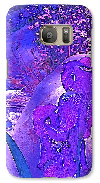 Galaxy Case featuring the photograph Iris 2 by Pamela Cooper