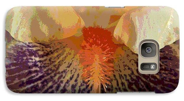 Galaxy Case featuring the photograph Iris Beard by Sally Simon