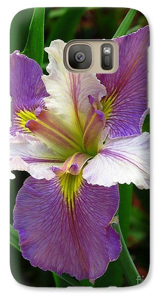 Galaxy Case featuring the photograph Iris Beauty by Phyllis Beiser