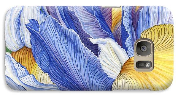 Galaxy Case featuring the painting Iris by Jane Girardot