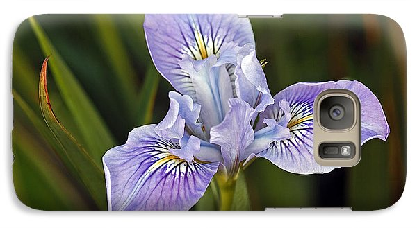 Galaxy Case featuring the photograph Iris by Kate Brown