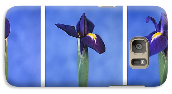 Galaxy Case featuring the photograph Iris by Lana Enderle