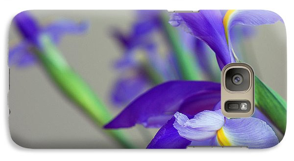 Galaxy Case featuring the photograph Iris by Lisa Phillips