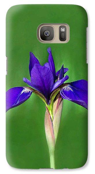 Galaxy Case featuring the digital art Iris by Marion Johnson