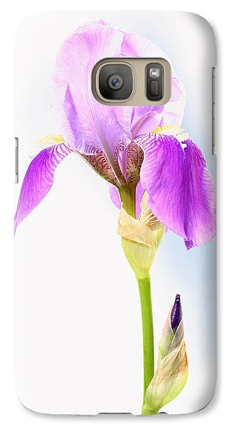 Galaxy Case featuring the photograph Iris On A Sunny Day by Steve Augustin