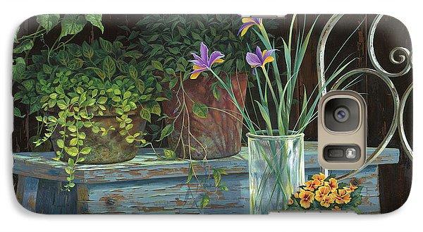 Irises Galaxy S7 Case by Michael Humphries
