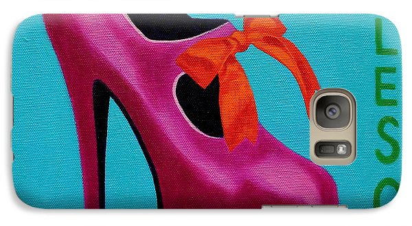 Irish Burlesque Shoe    Galaxy S7 Case by John  Nolan