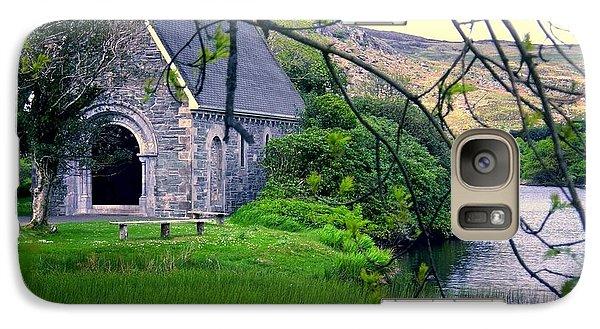 Galaxy Case featuring the photograph Irish Chapel by Ranjini Kandasamy