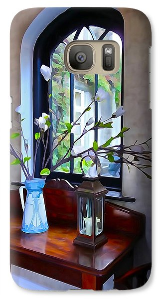 Galaxy Case featuring the photograph Irish Elegance by Charlie and Norma Brock