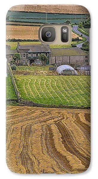 Galaxy Case featuring the photograph Irish Mosaic by Gary Hall