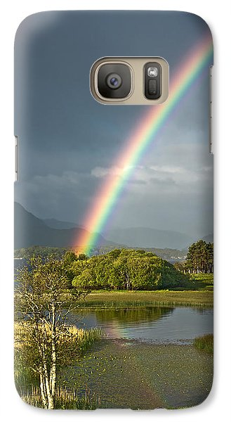 Galaxy Case featuring the photograph Irish Rainbow by Jane McIlroy