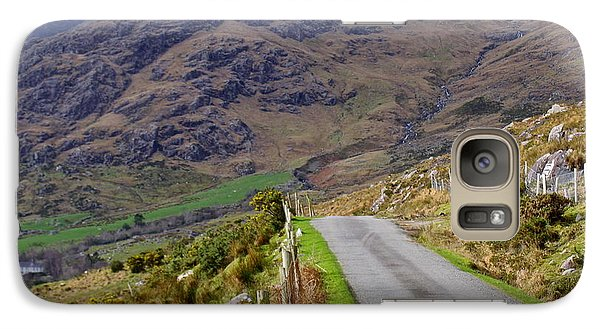 Galaxy Case featuring the photograph Irish Road by Suzanne Oesterling